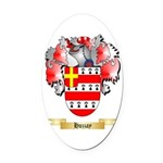 Huzzay Oval Car Magnet