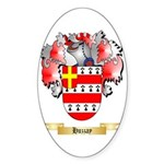 Huzzay Sticker (Oval 50 pk)