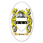 Hutton Sticker (Oval 50 pk)