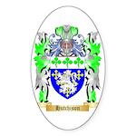 Hutchison Sticker (Oval 50 pk)