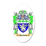 Hutchison 20x12 Oval Wall Decal