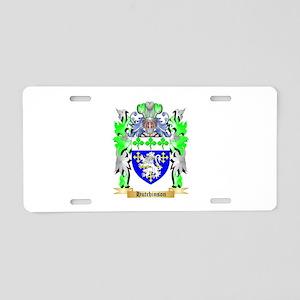 Hutchinson Aluminum License Plate