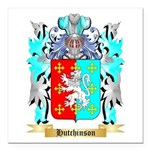 Hutchinson England Square Car Magnet 3