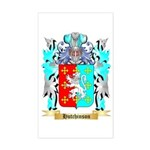 Hutchinson England Sticker (Rectangle)