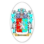 Hutchinson England Sticker (Oval 50 pk)