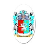 Hutchinson England 35x21 Oval Wall Decal