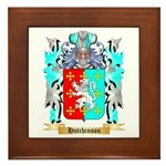 Hutchinson England Framed Tile