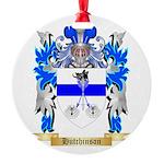 Hutchinson 2 Round Ornament