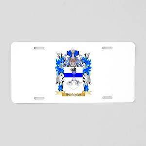 Hutchinson 2 Aluminum License Plate