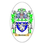Hutchins Sticker (Oval 10 pk)