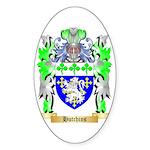 Hutchins Sticker (Oval 50 pk)