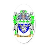 Hutcheson Oval Car Magnet
