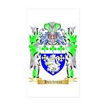 Hutcheson Sticker (Rectangle 50 pk)
