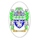 Hutcheson Sticker (Oval 50 pk)