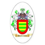 Huskinson Sticker (Oval 50 pk)