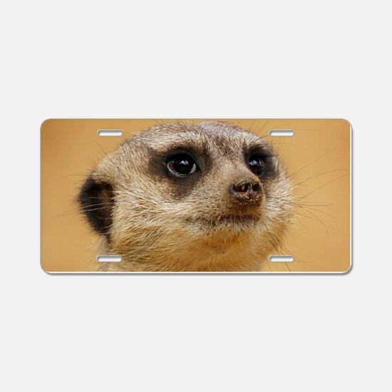 Meerkat_2014_1101 Aluminum License Plate