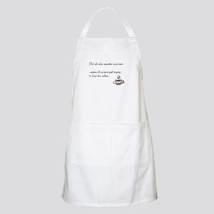 Wandering for Coffee Light Apron