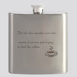 Wandering for Coffee Flask