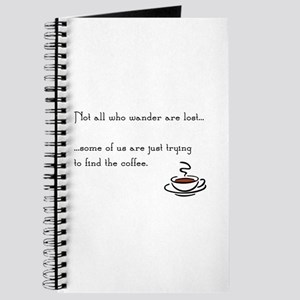 Wandering for Coffee Journal