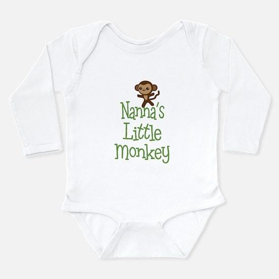 Nanna's Little Monkey Body Suit