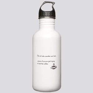 Wandering for Coffee Stainless Water Bottle 1.0L