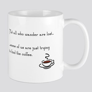 Wandering for Coffee Mugs