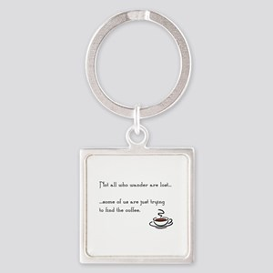 Wandering for Coffee Keychains