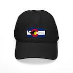 Chrn Logo Baseball Hat Black Cap