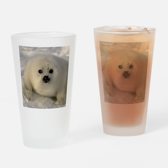 Baby Seal Drinking Glass