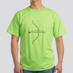 Bow Of Artemis Green T-Shirt