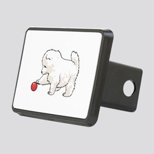 SAMOYED PUPPY Hitch Cover