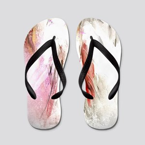 Abstract Angel in White Flip Flops