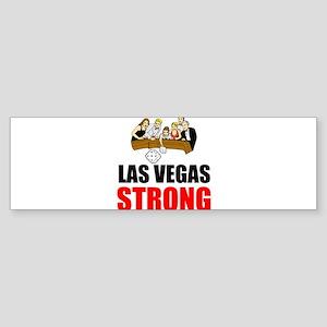 Las Vegas Strong Bumper Sticker