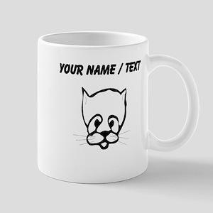 Custom Cat Face Mugs