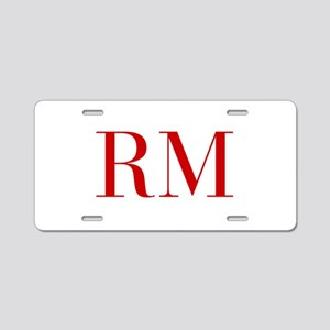 RM-bod red2 Aluminum License Plate