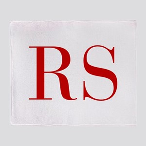 RS-bod red2 Throw Blanket