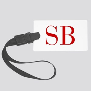 SB-bod red2 Luggage Tag