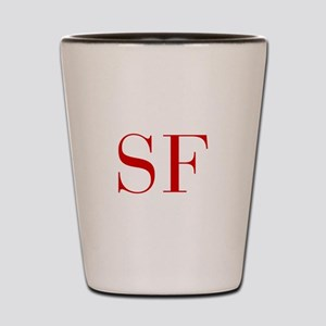 SF-bod red2 Shot Glass