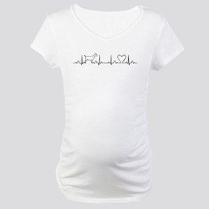 Heartbeat for my Goats Maternity T-Shirt