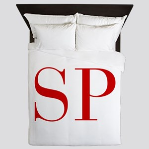 SP-bod red2 Queen Duvet