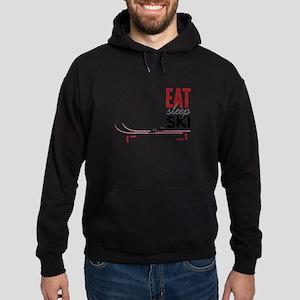 Eat Sleep Ski Hoodie