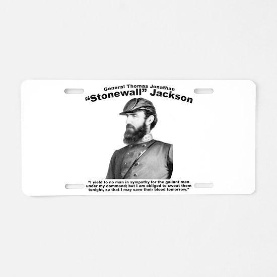 Stonewall: Gallant Aluminum License Plate