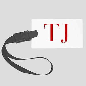 TJ-bod red2 Luggage Tag