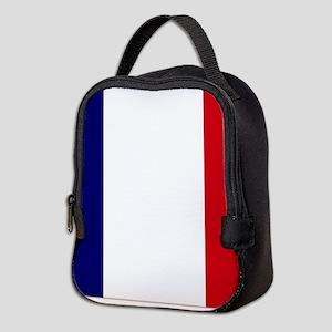 France flag Neoprene Lunch Bag