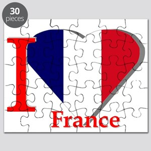 I love France Puzzle