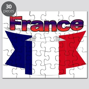 French flag ribbon Puzzle