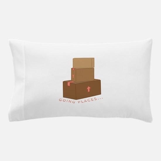 going Places Pillow Case