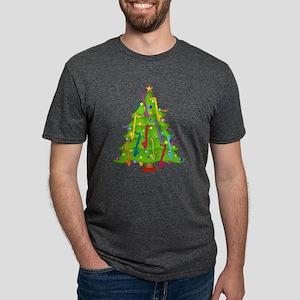 Bass Clarinet Christmas Tree T-Shirt