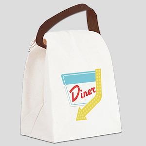 Diner Halt Canvas Lunch Bag