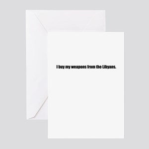Libyan Weapons Greeting Cards (Pk of 10)
